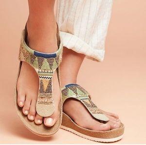 Sam Edelman Shoes - New Sam edelman olivie beaded flip flops sandals
